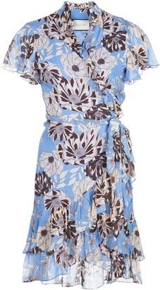 Alexis Melyssa floral-print wrap dress