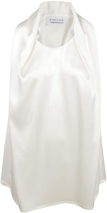 Gianluca Capannolo Draped Neck Top