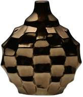 Element Metallic Rippled Vase