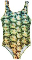 Molo Nika Pineapple Printed Lycra One-Piece