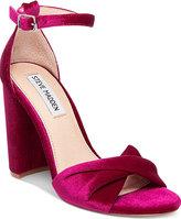 Steve Madden Women's Clever Block-Heel Sandals