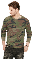 Denim & Supply Ralph Lauren Thermal Crew Neck Long Sleeve T-shirt, Sabrage Multi