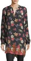 Tolani Alaya Floral-Print Tunic Dress