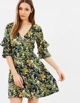 Warehouse Painted Meadow Tea Dress