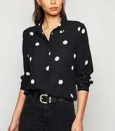 New Look Spot Long Sleeve Shirt