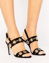 Coast Gold Detail Heeled Sandal