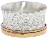 David Tishbi Wide Paisley Band with Rose Gold Spinner
