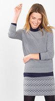 Esprit OUTLET fine knit jumper with ribbed front