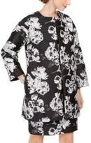 Natori N Jacquard Open-Front Jacket