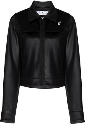 Off-White Athleisure zip-up jacket