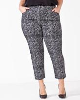 Penningtons Savvy Chic Printed Ankle Pant