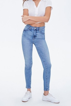 Forever 21 Mid-Rise Skinny Jeans