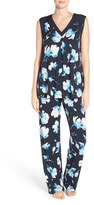 Midnight by Carole Hochman Women's Floral Pajamas