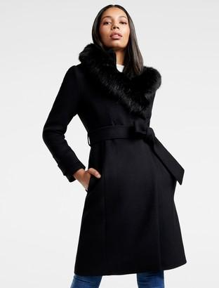 Forever New Lola Hooded Coat - Black - 4