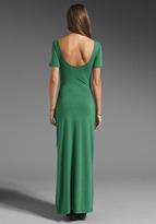 LnA Eva Dress in Heater Green