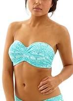 Cleo by Panache Women's Hattie Bra-Sized Bandeau Bikini Top With Detachable Straps