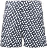 Orlebar Brown patterned Gilot swim shorts with adjustable belt - men - Polyester - 28