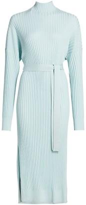 Proenza Schouler Slouchy Silk Blend Knit Midi Dress