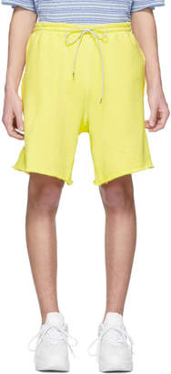 Name Yellow Patch Shorts