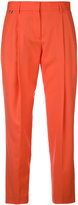 Paul Smith straight pleated trousers - women - Wool - 40