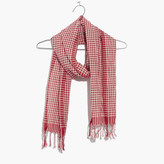 Madewell Gingham Check Scarf