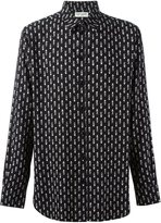Saint Laurent playing card printed shirt - men - Viscose - 40