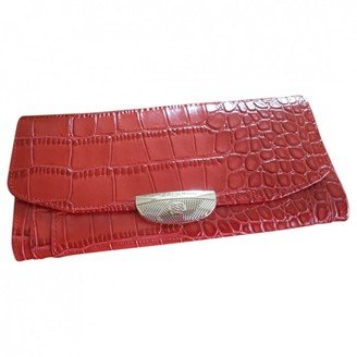 Lancel Adjani Red Leather Purses, wallets & cases