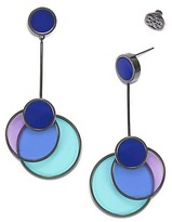 Tory Burch Circle Drop Earring