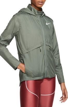 Nike Essential Water Repellent Hooded Rain Jacket