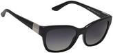 Ralph Lauren Black & Gray Gradient Square Sunglasses