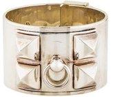 Hermes Sterling Collier de Chien Bracelet