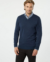 Le Château Viscose Blend V-Neck Sweater