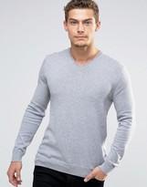 Esprit V-neck Cashmere Mix Jumper