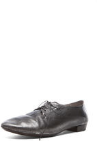 Marsèll Lace Up Metallic Leather Oxfords