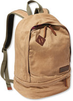 L.L. Bean Teardrop Waxed Canvas Backpack