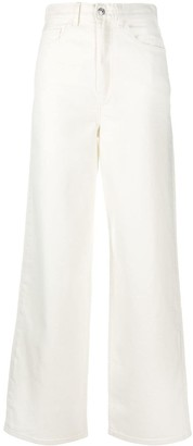 Levi's White High-Rise Jeans