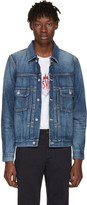 Visvim Blue Damaged Denim 101 Jacket