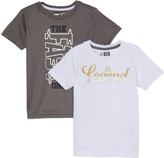 RBX Boys' Tee Shirts CASTLE - Castle Rock 'The Fast One' & White 'Legend' Tee Set - Boys