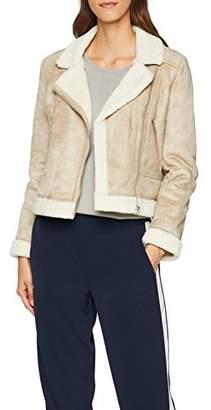 Great Plains Women's Faux Shearling Jacket,12 (Size: M)