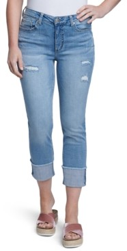 Seven7 Ripped Cuffed Jeans