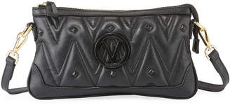 Mario Valentino Valentino By Abigail D Sauvage Quilted Leather Crossbody Bag