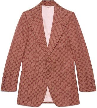 Gucci Men's GG canvas jacket