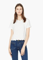Mango Outlet Embroidered Cotton T-Shirt
