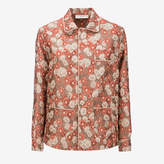 Bally Women's jacquard polyester shirt in multi-peach