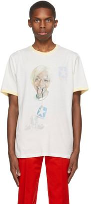 Telfar Reversible Off-White Converse Edition Coach T-Shirt