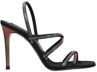 Pedro Garcia Rea Sandals In Black Leather