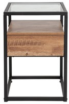 Riaan End Table with Storage Union Rustic