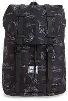 Herschel Boy's Retreat Fish Print Backpack - Blue