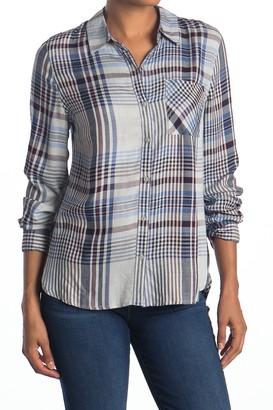 Como Vintage Plaid Button Front Shirt