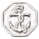 Mateo Bijoux Anchor Tag Lapel Pin